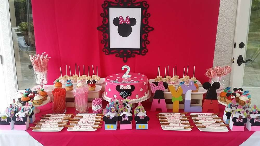 Minnie Mouse Friends Birthday Party Ideas Birthday Minnie