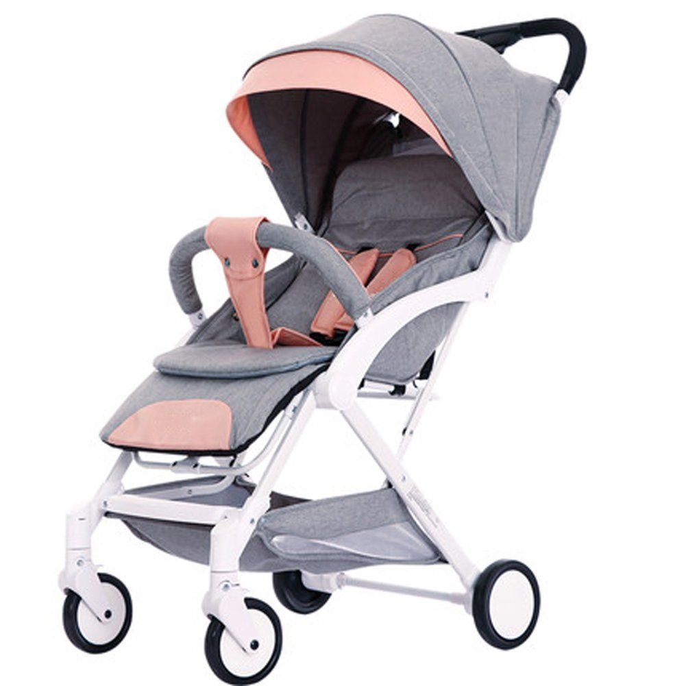 Carriage Type Strollers Stroller Stroller Can Sit Reclining Can Be Folded