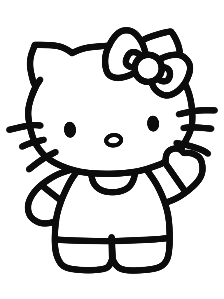 7000 Gambar Hello Kitty Pensil Hd Paling Keren Hello Kitty Drawing Hello Kitty Iphone Wallpaper Hello Kitty Colouring Pages