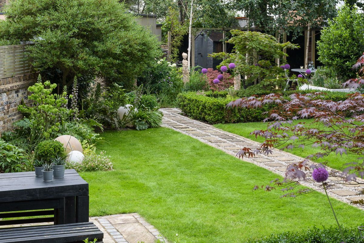 Modern Japanese Garden Design North London | Modern ...