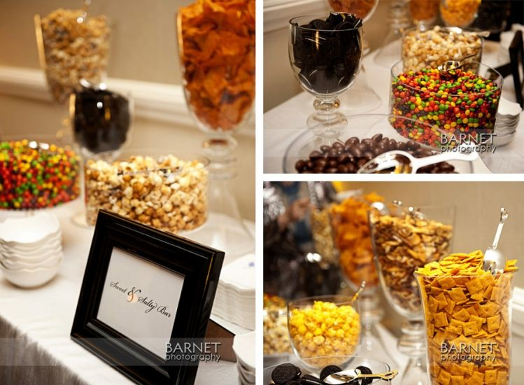 Sweet And Salty Bar Rather Than Just A Sweets Table Perfect For