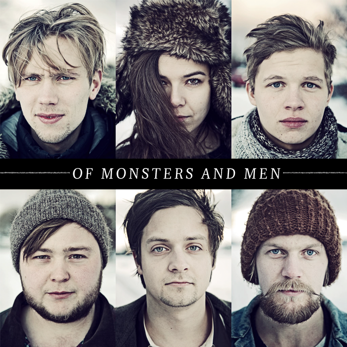 Of Monsters and Men: Fairytale-like lyrics, amazing and unique sound. The perfect mix to get your imagination flying.