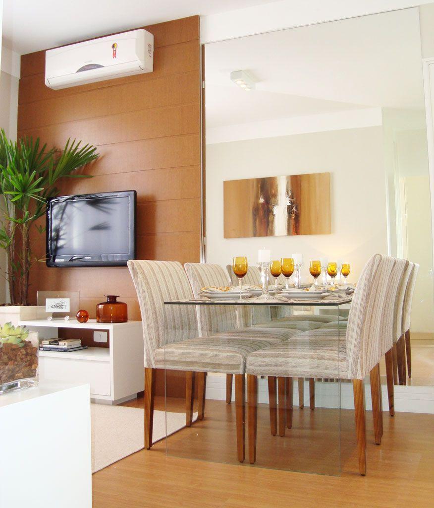 40 boas ideias para usar vidro na arquitetura - Comedores pequenos para apartamentos ...