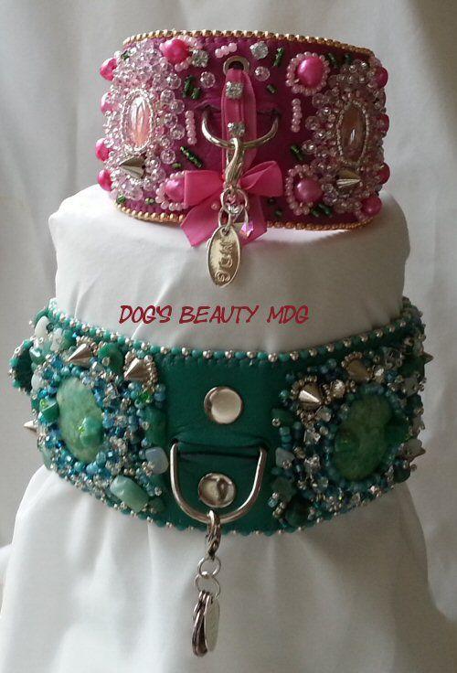Littel Dogs Beauty - Dogs Beauty - MDG-Bead-Embroidery Sieraden en accessoires