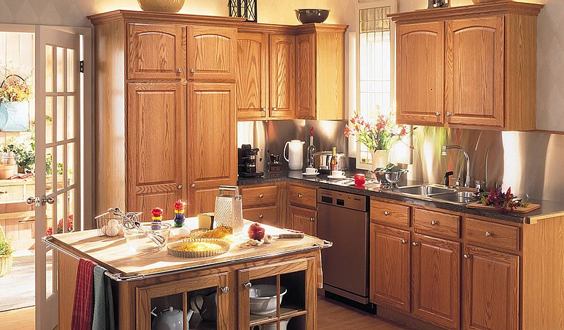 merillat classic seneca ridge in oak cider merillat find this pin and more on kitchen