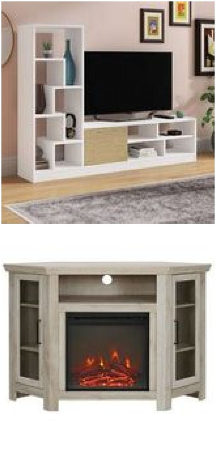 Entertainment Center for TVs up to 65 inches , Monarch