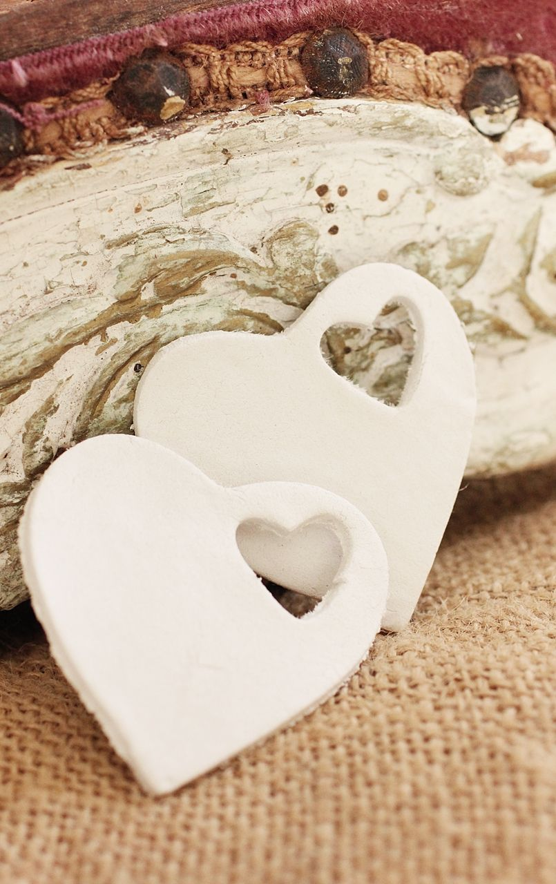 Beach House Living: White Clay Tags, Ornaments and Wedding Favors ...