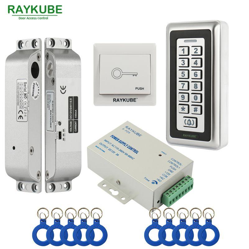 Raykube Access Control Kit Electric Mortise Lock Rfid Metal Keypad Door Security Aliexpress Affi Access Control Access Control System Frameless Glass Doors