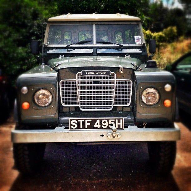 Classic Land Rover - Jamie Oliver