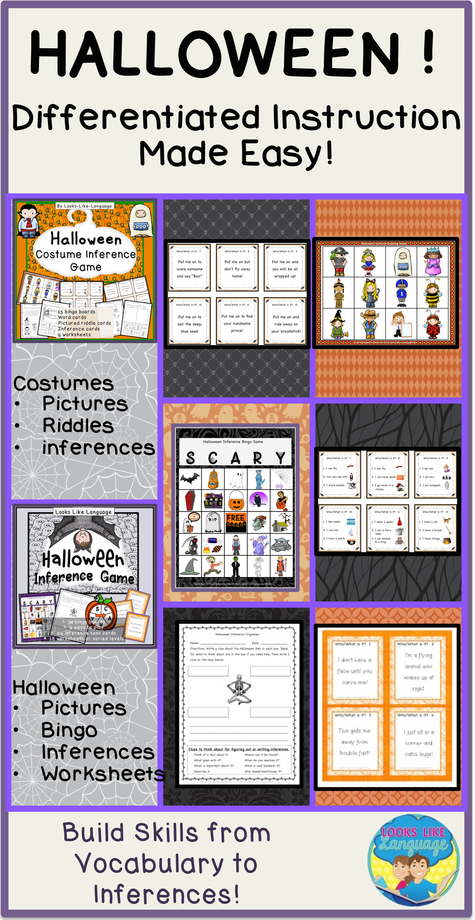 Fun Halloween Activities For Building Skills From Vocabulary To