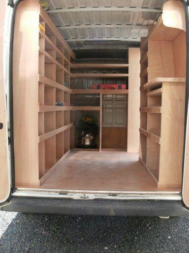 Amenagement Tout En Hauteur Work Trailer Van Storage Van Shelving
