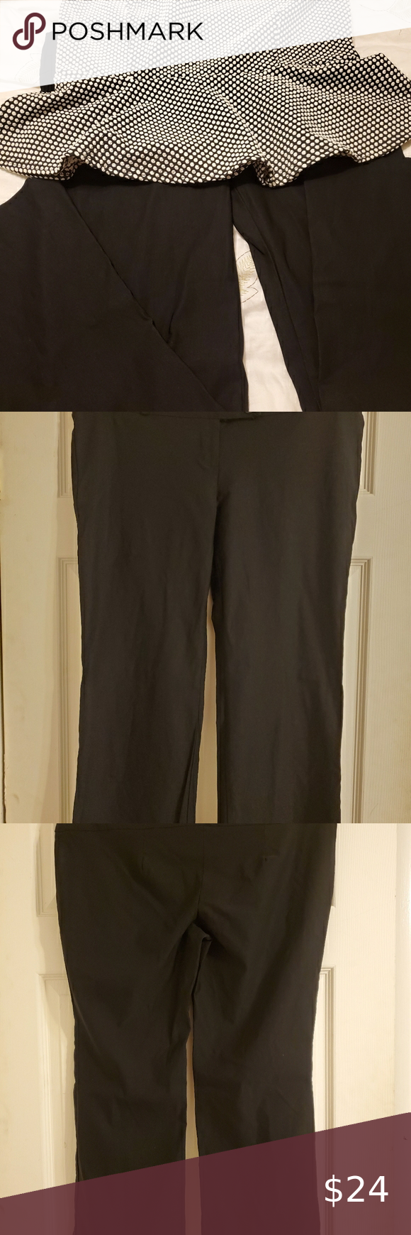 Black Belted Dress Casual Pant Belted Dress Casual Casual Dresses Fitted Dress Pants [ 1740 x 580 Pixel ]