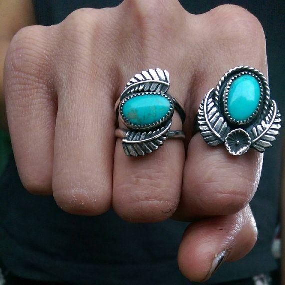 Hachita Turquoise ring by RoadKillGems on Etsy
