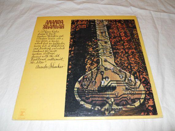 1970 Ananda shankar White Label Promo Vinyl by VinylRecordBarn, $19.99