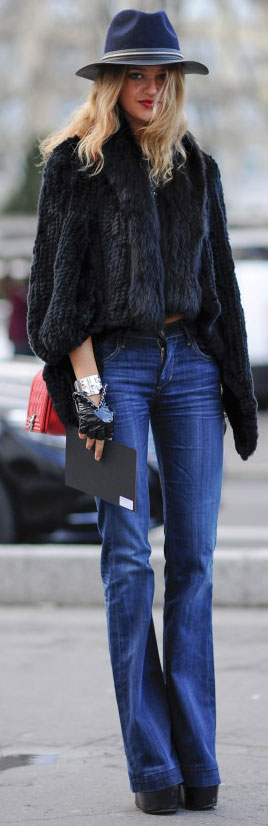 See Every Snap From #PFW Day One #streetstyle