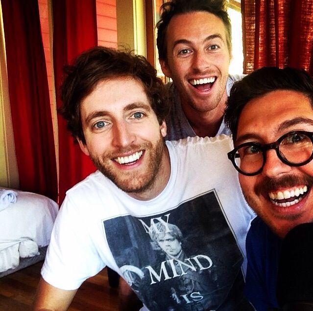 Thomas Middleditch, Jake Hurwitz, and Amir Blumenfeld.