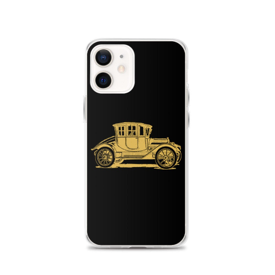 Vintage vehicle iPhone cases, Samsung phone cases. Antique car phone case. 3 colours options. - iPhone 11 Pro / Black