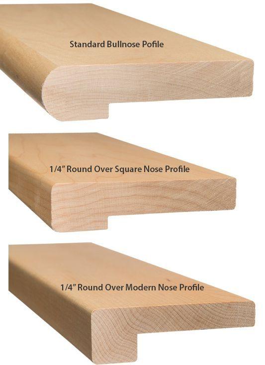 False Stair Tread Nose Profiles Wood
