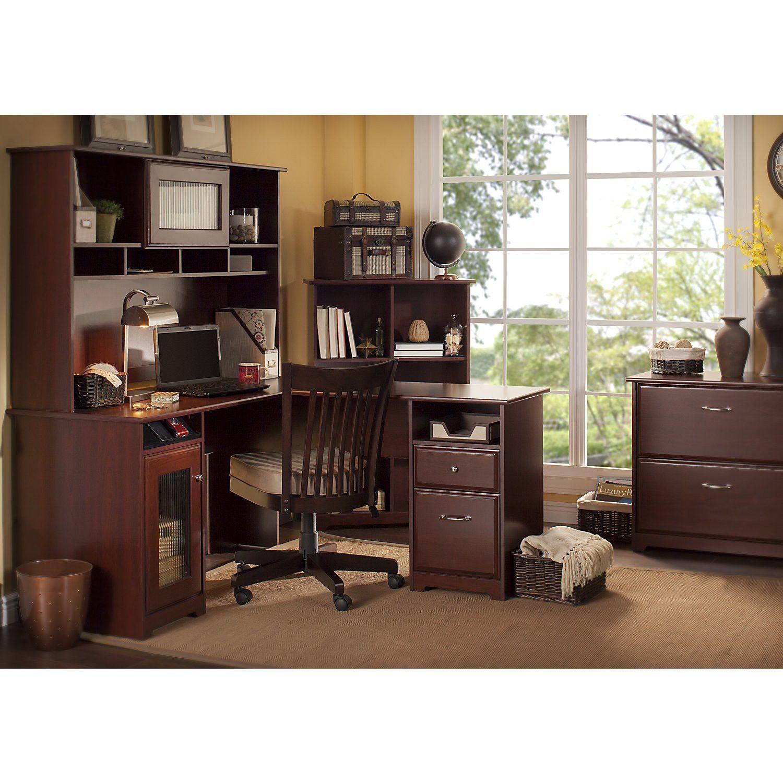 cabot l shape executive desk office suite