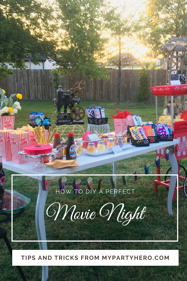 Throwing the Perfect Backyard Movie Party in 2020