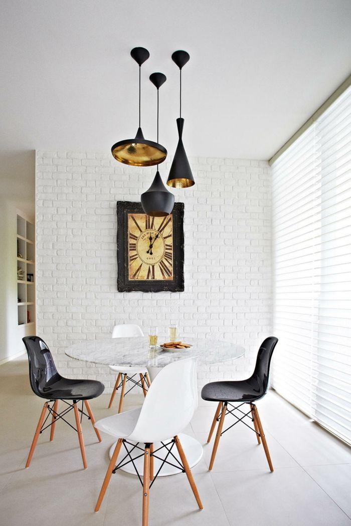 1001 ideas de decoraci n con pared de piedra o ladrillo - Ladrillos decorativos para interiores ...