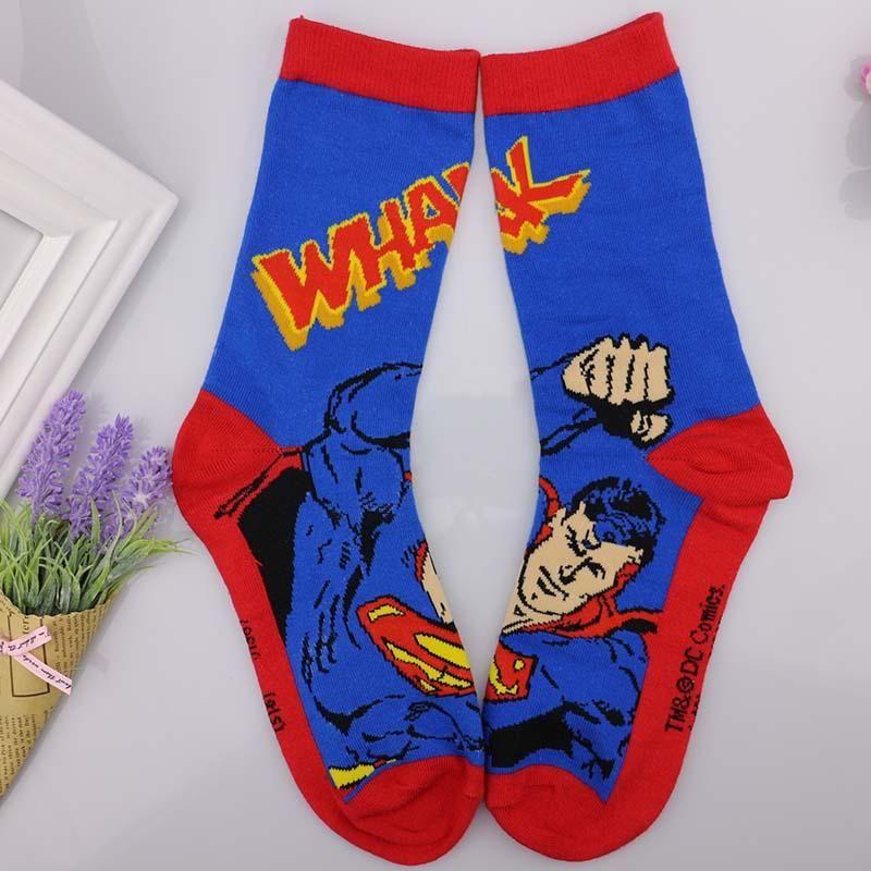 b06788c3e284 European mens cartoon anime cotton jacquard socks crazy 3d men wedding  dress socks novelty funny socks for women