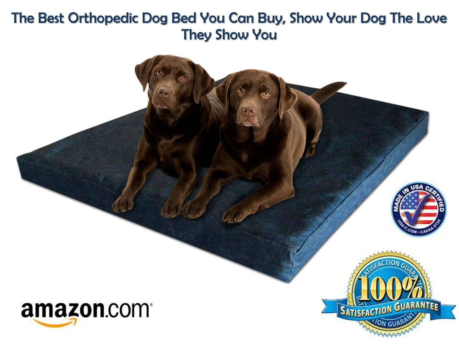Extra large orthopedic dog beds best price - Extra Large Memory Foam Orthopedic Dog Bed X X Made In Usa Best Xl Luxury Large Breed Washable Pet Bed You Can Buy 4 Lb Memory Foam Puppy Bed