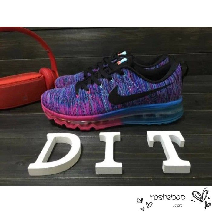 e36861b9ee4f ... promo code for nike flyknit air max womens blue pink purple nike air max  56bd1 bb0be