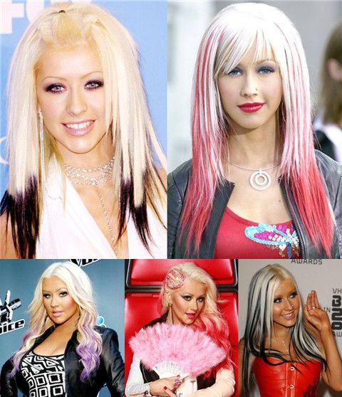 Top 40 Most Beautiful Hair Looks Of Christina Aguilera Pretty Designs Christina Aguilera Black Hair Christina Aguilera Beautiful Christina