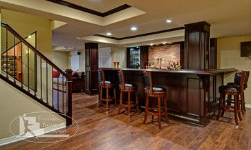 The Basement Opens Into The Pub Style Bar That Is The Focal Point - The basement company