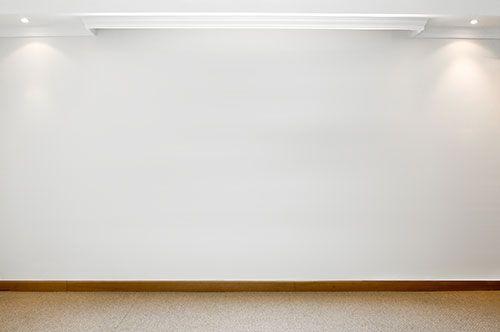 Plain White Wall Focus Jpg 500 332