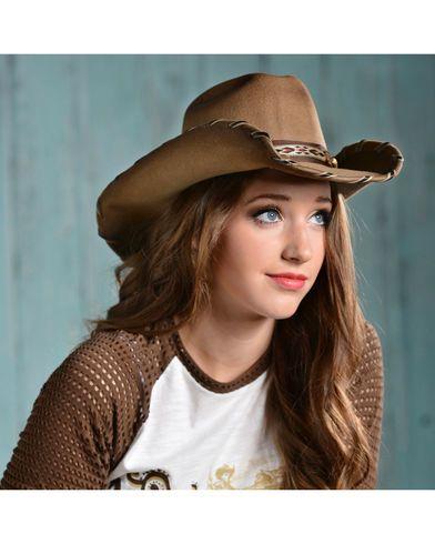 ebfc0438d0b666 Bullhide Cheyenne Wool Cowgirl Hat   Chic Cowgirl Fashions   Cowgirl ...