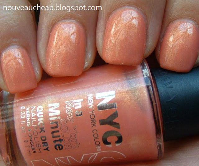 New York Summer Nail Polish: Nouveau Cheap: NYC In A New York Color Minute Nail Polish