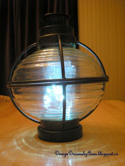 Funky Boat Lantern Lamp Lamp Lantern Lamp Funky Lamps