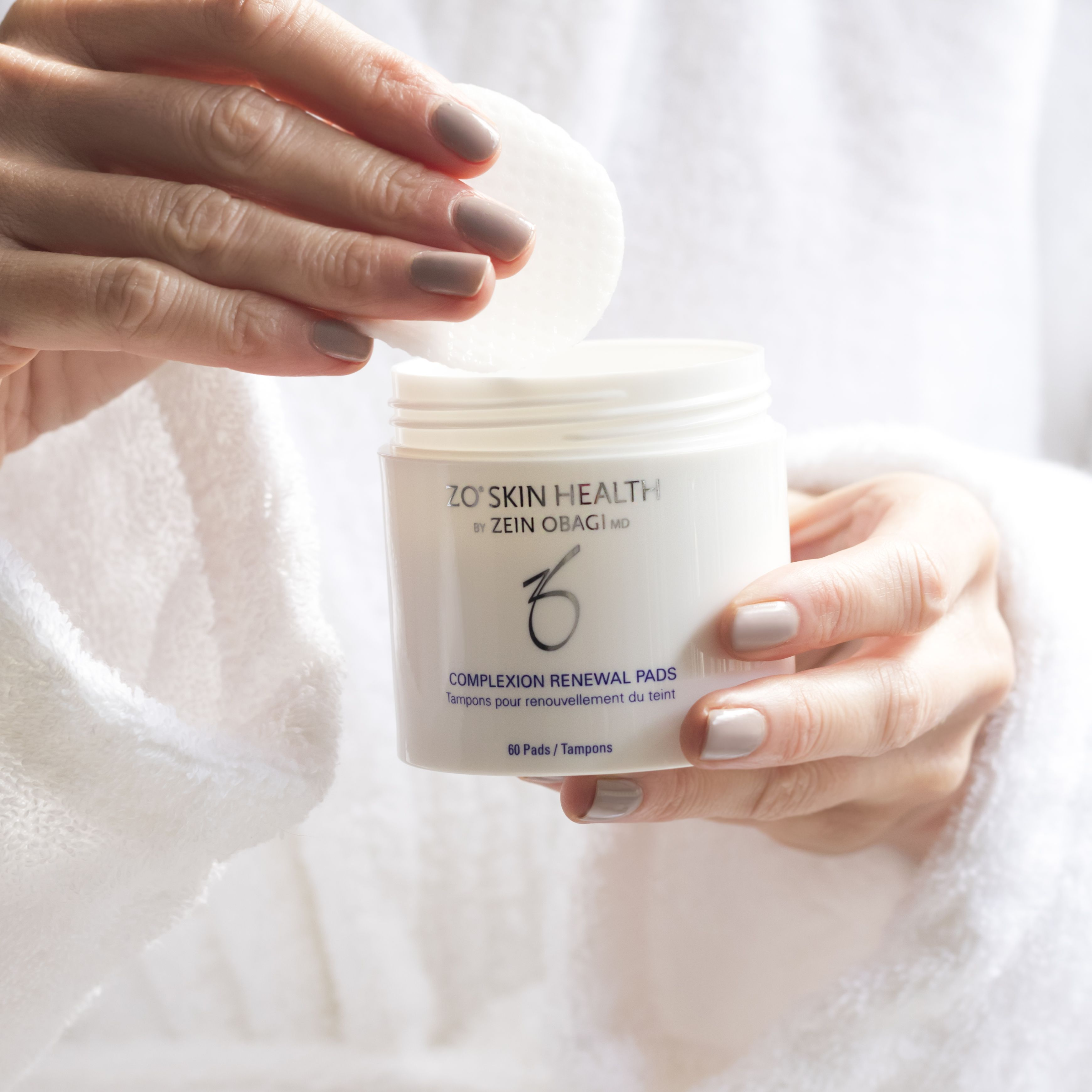 Clear skin complexion renewal facial pads in 2020