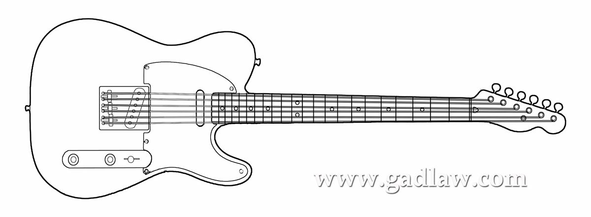 Line Drawing Guitar : Guitar line drawing google search coloring pages