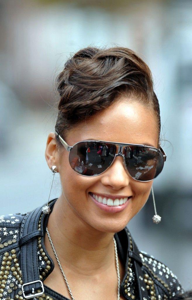 c20ef54fd084 Alicia Keys Chic Hairstyles, Alicia Keys Hairstyles, Celebrity Hairstyles,  Braided Hairstyles, Beautiful