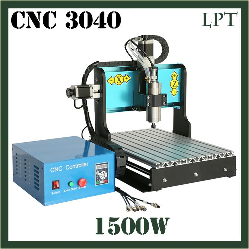 JFT CNC Milling Router 3040 1500w Professional Standard