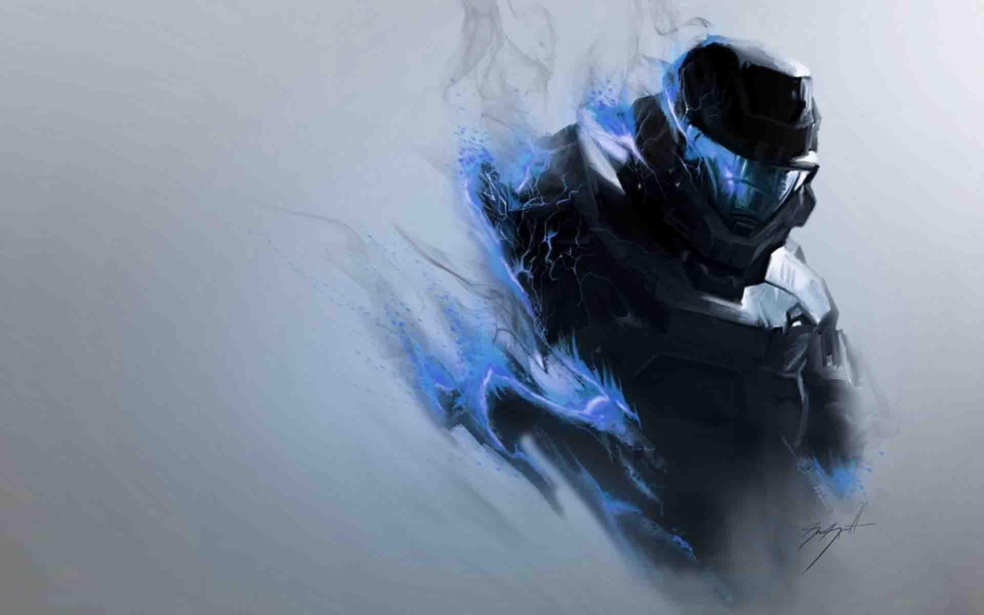 Halo Effect Hd Wallpaper Hd Wallpaper Wallpaper Halo