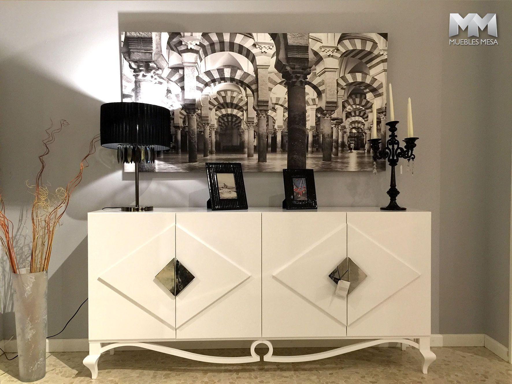 Muebles Franco Furniture En La Exposici N De Muebles Mesa En  # Royal Door Muebles