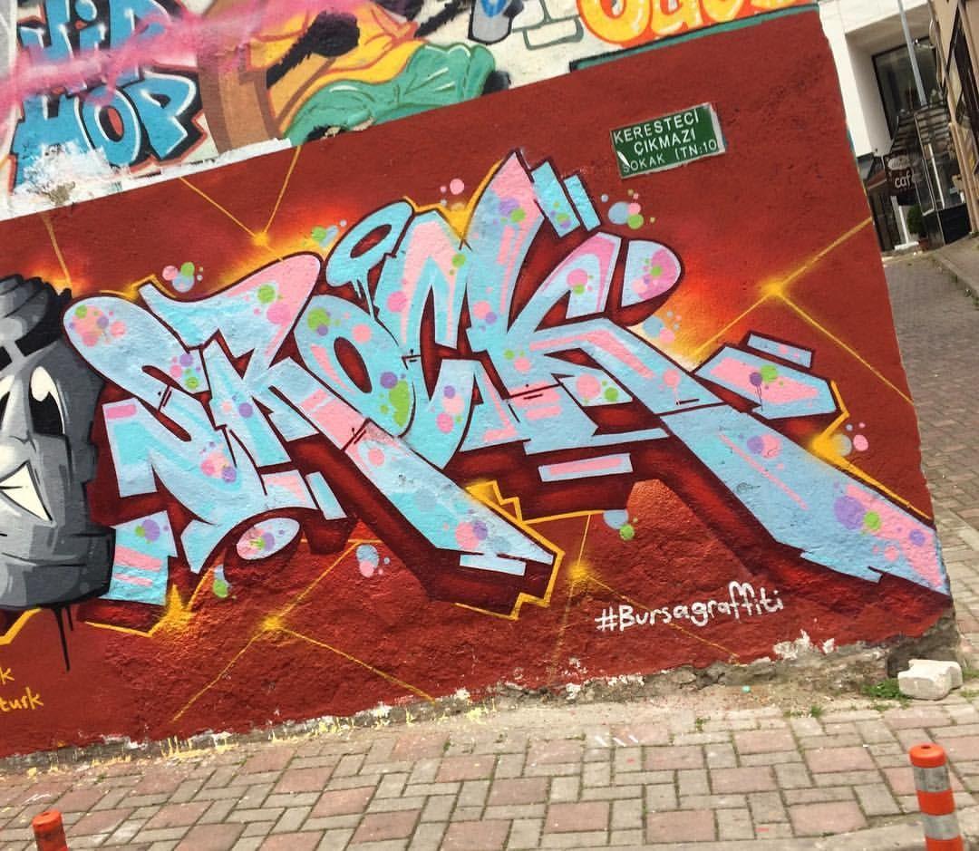 Yokohama graffiti wall - Art Walls