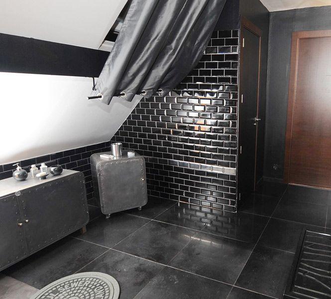 Carrelage métro pour la station salle de bains - salle de bain carrelee