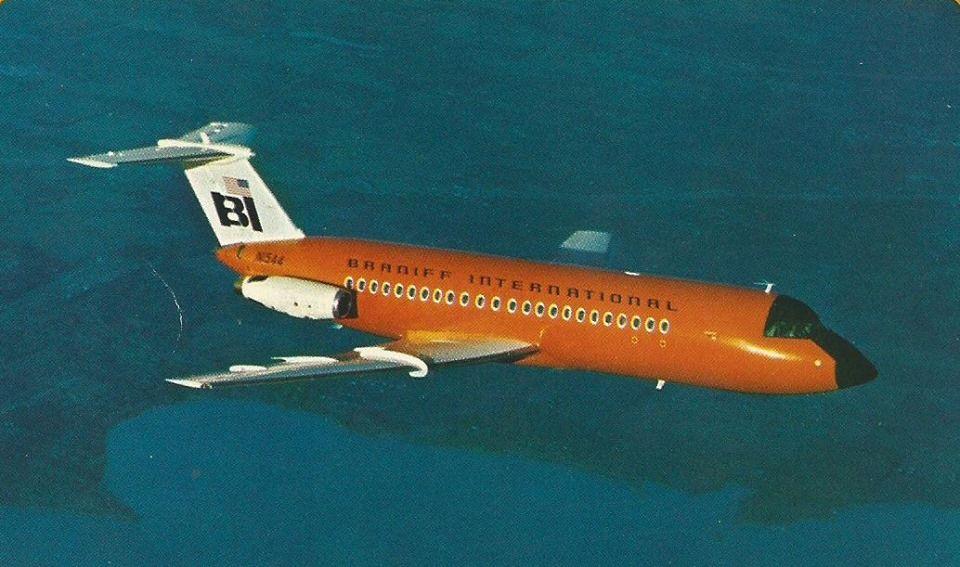 Braniff International BAC 111203AE OneEleven N1544 in