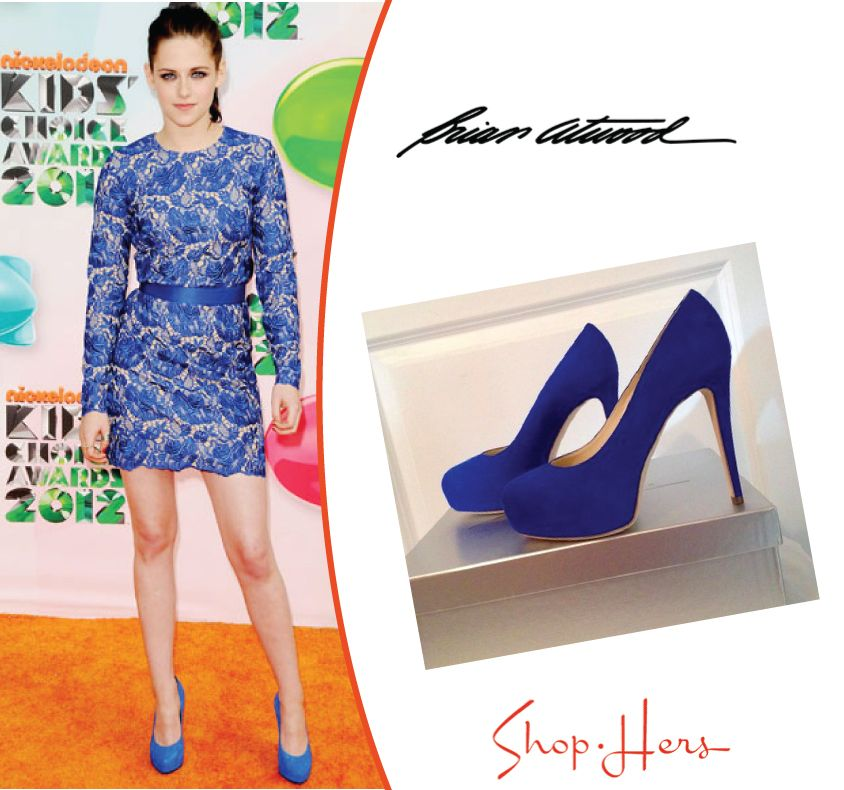 OMG. Forget all those other shoes. These are awesome! Kristen Stewart