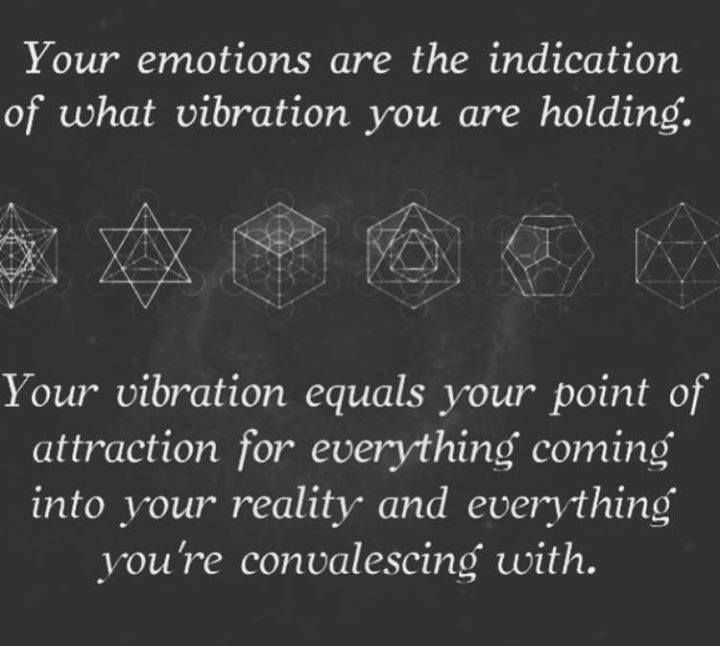 Your Emotions Are The Indication Of What Vibration You Are Holding
