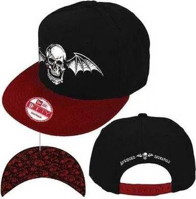 8c33657c2 Avenged Sevenfold A7X Bat Wings Skull Metal Rock Music New Era ...