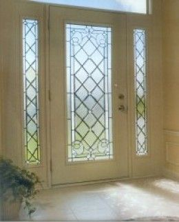 Home improvement with exterior glass doors decorative glass beautiful glass exterior entry door with diamond leaded glass planetlyrics Image collections