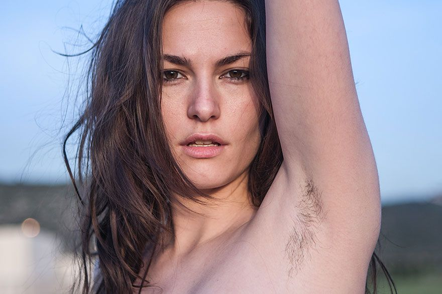 Photographer Challenges Female Beauty Standards With Unshaven