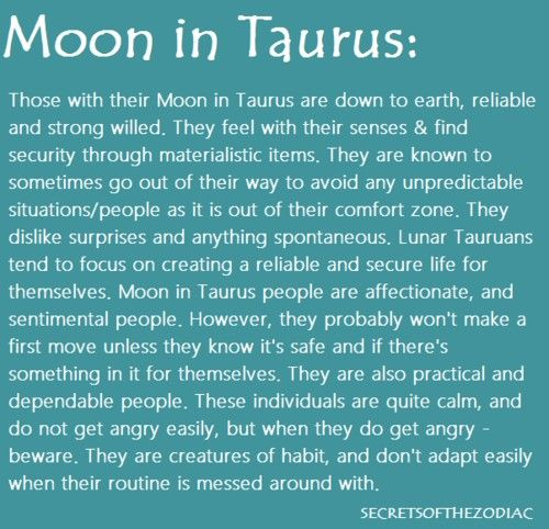 taurus moon sign today horoscope
