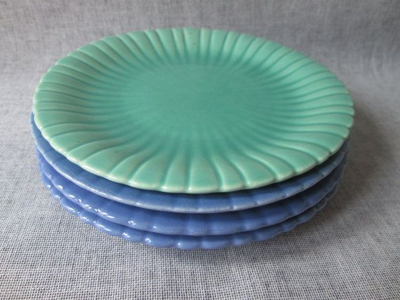 Stangl Pottery Colonial 1388 Dinnerware - FOUR Bread \u0026 Butter Plates - Silver Green/Colonial & Stangl Pottery Colonial 1388 Dinnerware - FOUR Bread \u0026 Butter Plates ...